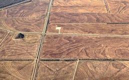 Luftlandschaftsgewänner Stockfotografie
