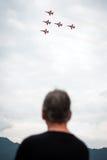Luftmacht 2013 airshow, Zeltweg, Österreich Lizenzfreie Stockfotos