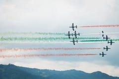 Luftmacht 2013 airshow, Zeltweg, Österreich Lizenzfreie Stockbilder