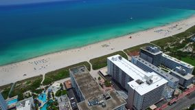 Luftmiami beach-Video 4k stock footage