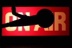 luftmikrofon Royaltyfri Bild