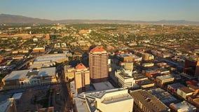 Luftnew mexico Albuquerque stock video