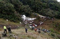 LUFTOLYCKA COLOMBIA Fotografering för Bildbyråer