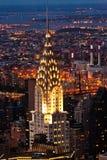 Luftpanoramablick über oberem Manhattan von Reich-Zustand bui Lizenzfreies Stockbild
