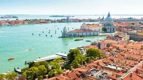 Luftpanoramablick von Venedig, Italien Lizenzfreie Stockfotografie