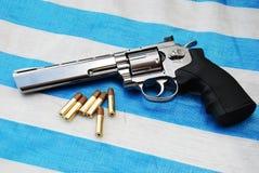 Luftpistol Fotografering för Bildbyråer