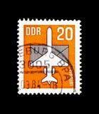 Luftpost, serie, circa 1983 lizenzfreies stockbild