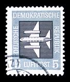 Luftpost, serie, circa 1957 stockfoto