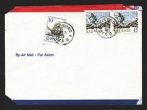 Luftpost-Umschlag Lizenzfreie Stockfotografie
