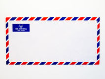 Luftpostumschlag Lizenzfreie Stockbilder