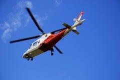 lufträddningsaktion Fotografering för Bildbyråer