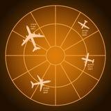 Luftradar Arkivbild