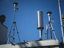 Luftregulierungskontrollstation Stockbild