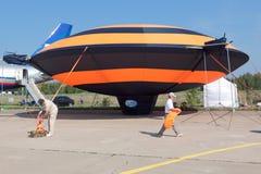 Luftschiff lizenzfreie stockbilder