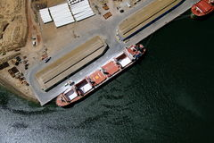 Luftschiffstransport Lizenzfreie Stockfotografie