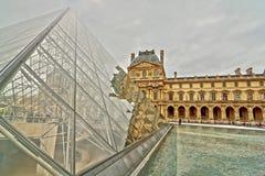 Luftschlitz, Paris stockbilder
