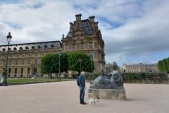 Luftschlitz, Paris Stockfotografie