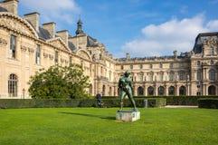 Luftschlitz in Paris, Frankreich stockfoto