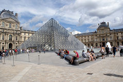Luftschlitz-Pyramide Stockbilder