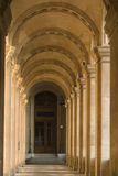 Luftschlitzmuseumsgehweg - Frankreich - Paris Stockbild