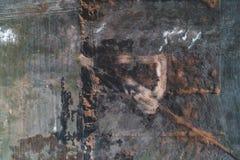Luftschuß eines Feldes lizenzfreies stockfoto
