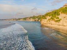 Luftschuß Fotos vom Brummen Strand-Traumland Bali Indonesien stockfotos