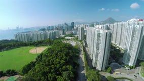 Luftschuß 4K von Hong Kong von China stock video footage