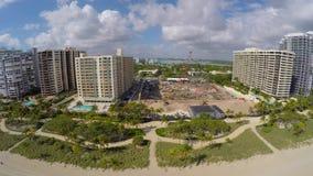 Luftschuß von Bal Harbour stock video footage