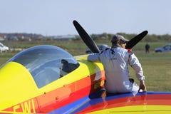 LuftShow Arkivfoto