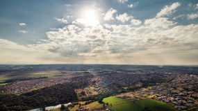 Luftsikt Royaltyfri Bild