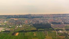 Luftstadtbild Noordwijk lizenzfreie stockbilder