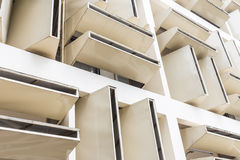Luftstrom-Gebäude in der Universität Stockbilder