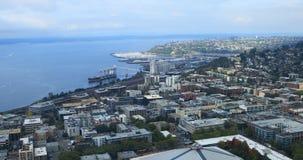 Luftszene von Seattle, Washington 4K stock footage