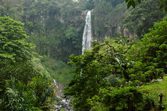 LuftterjunTawangmangu Tawangmangu vattenfall Arkivbild