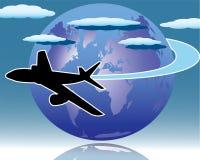 Lufttransport lizenzfreie abbildung
