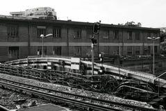 Luftu-bahn-linie in Paris Lizenzfreie Stockfotografie