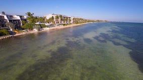 Luftufergegendwohnungen Key West stock video footage
