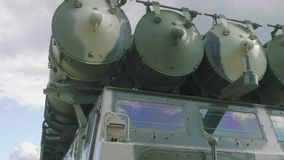 Luftvärnmissilsystem stock video