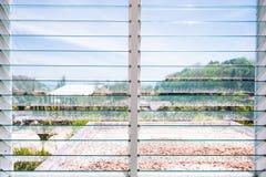 Luftventil för Windows exponeringsglas i hem royaltyfri bild