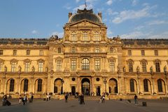 Luftventilmuseum i Paris, Frankrike fotografering för bildbyråer