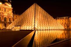 luftventilnattpyramid Royaltyfri Foto