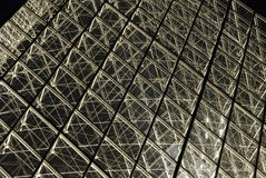 luftventilnattpyramid Arkivbild