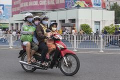 Luftverschmutzung in Ho Chi Minh-Stadt, Vietnam