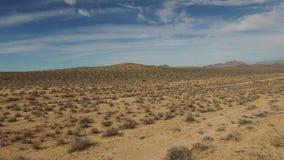 Luftvideo der New Mexiko-Wüste stock footage