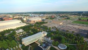 Luftvideo von Oklahoma City stock footage
