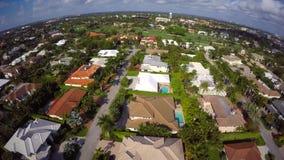 Luftvideo von uhd 5 Boca Raton Floridas 4k stock footage
