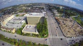 Luftvideobaustelle in Boca Raton stock video