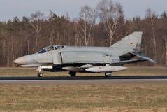 Luftwaffe F-4 Spoor Stock Foto's