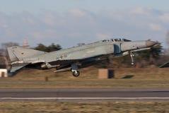 Luftwaffe F-4 Spoor Royalty-vrije Stock Afbeelding