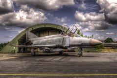 Luftwaffe F-4F Spoor stock foto